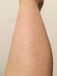 足のムダ毛の写真・画像素材[2068411]