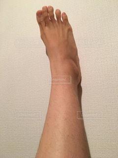 足のムダ毛ですの写真・画像素材[2068416]