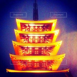 東京 浅草の浅草寺の五重塔の写真・画像素材[1040892]
