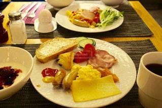 フィンランドのホテルでの朝食です。の写真・画像素材[1040999]