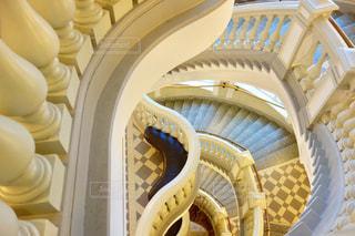 フィンランドの博物館の階段の写真・画像素材[1041015]