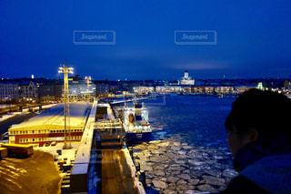 フィンランドの船の上からの景色の写真・画像素材[1041059]