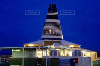 フィンランドから乗った船の上の写真・画像素材[1041060]