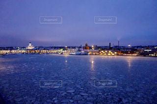 フィンランドの船の上からの景色の写真・画像素材[1041061]