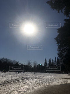 雪のグランド - No.1043018
