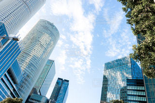 都市の高層ビルの写真・画像素材[1067121]