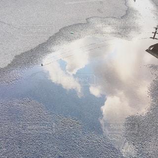 水たまりの写真・画像素材[1040703]