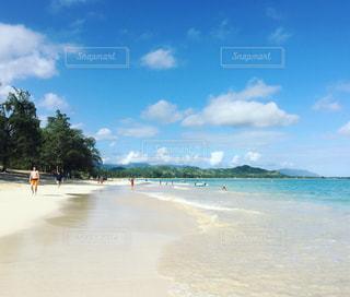 ハワイのビーチの写真・画像素材[1040705]