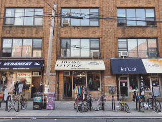 ブルックリンのストリートの写真・画像素材[1041126]