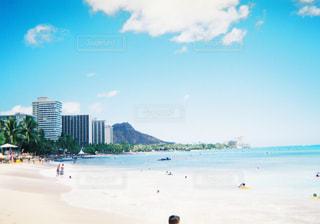ワイキキビーチの写真・画像素材[1056336]