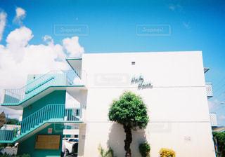 ハワイのアパートの写真・画像素材[1056337]