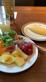ホテルの朝食付きビュッフェ - No.1040691