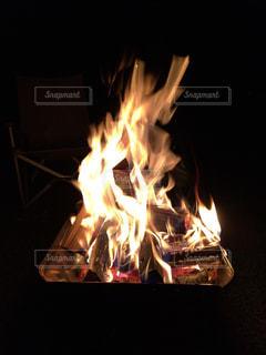 焚火の写真・画像素材[1047203]