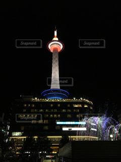 京都タワーライトアップの写真・画像素材[1047204]