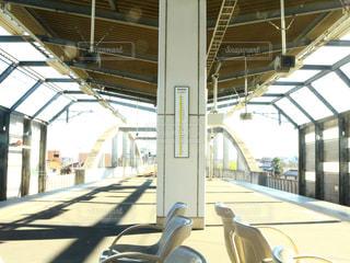 駅のホームの写真・画像素材[1047717]