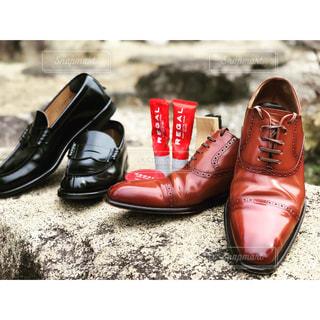 靴のペアの写真・画像素材[1041185]
