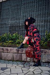 ストリート着物の写真・画像素材[1042044]