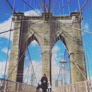 ブルックリン橋の写真・画像素材[1041686]