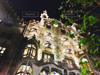 カサバトリョ 夜の光景2の写真・画像素材[1042112]
