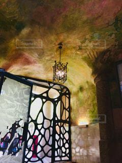 カサミラ 内部の装飾の写真・画像素材[1042165]