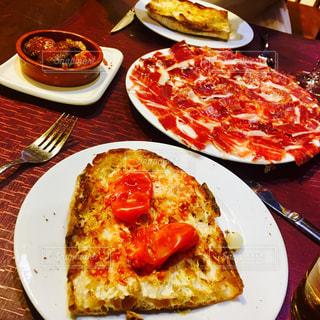 スペイン料理 生ハムの盛り合わせの写真・画像素材[1042698]