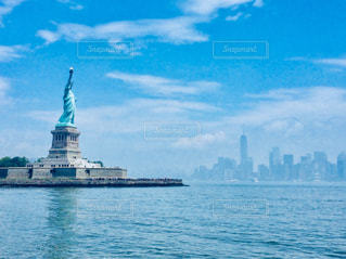 ニューヨーク 自由の女神の写真・画像素材[1042953]