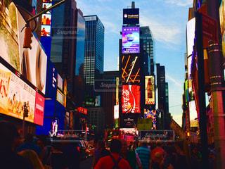 NY タイムズスクエアの写真・画像素材[1042957]