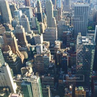都市の高層ビルの写真・画像素材[1042960]