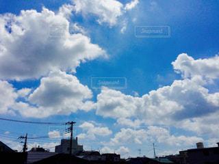 空の雲の写真・画像素材[1052134]