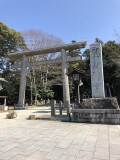 鹿島神宮の写真・画像素材[1056106]