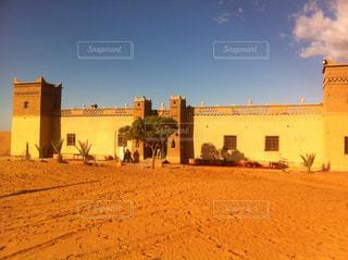 砂漠のオアシスの写真・画像素材[1042025]