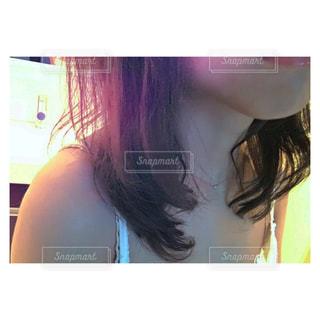 女性の髪の写真・画像素材[1085431]