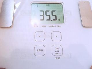 体重計の写真・画像素材[1113907]