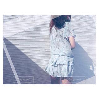 バックショット色味違いの写真・画像素材[1114640]