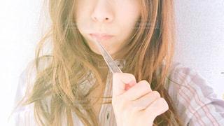 歯磨き中の女性 - No.1156143