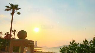 海辺の夕景の写真・画像素材[1163590]