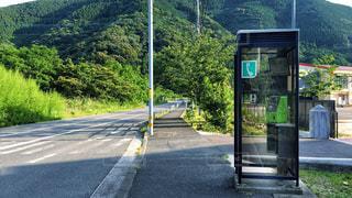 田舎の公衆電話の写真・画像素材[1250501]