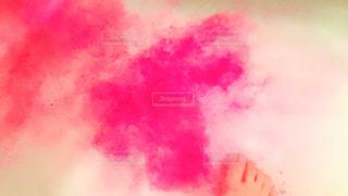 ピンクの入浴剤の写真・画像素材[1292166]