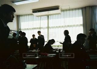 教室の写真・画像素材[1042055]