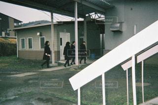 移動教室の写真・画像素材[1042059]