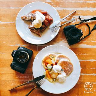 パンケーキの写真・画像素材[1042068]