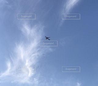飛行機と空との写真・画像素材[1042168]