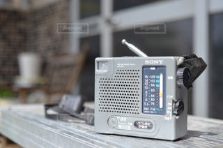 ラジオの写真・画像素材[1728039]