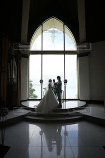 結婚式 誓いの言葉の写真・画像素材[1043194]