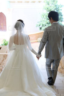 結婚式前の写真・画像素材[1043196]
