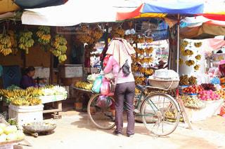 東南アジアの市場の写真・画像素材[1047224]