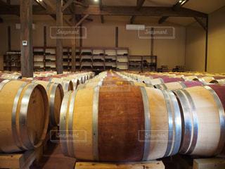 ワイン樽の写真・画像素材[1044074]