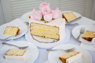 ウェディングケーキの写真・画像素材[1055924]