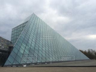 モエレ沼公園のピラミッドの写真・画像素材[1068703]