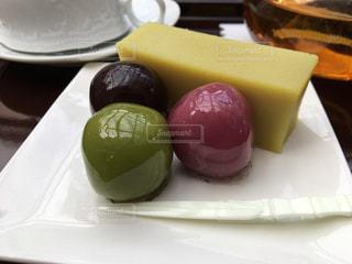 あんこ玉と芋ようかん♪の写真・画像素材[1106321]